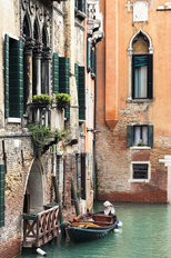 Venice Canal, Italy Wall Mural