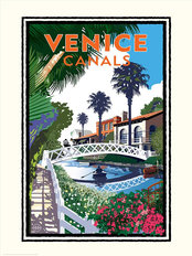 Venice Canals Wallpaper Mural