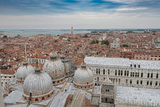 Venice from Above Wall Mural