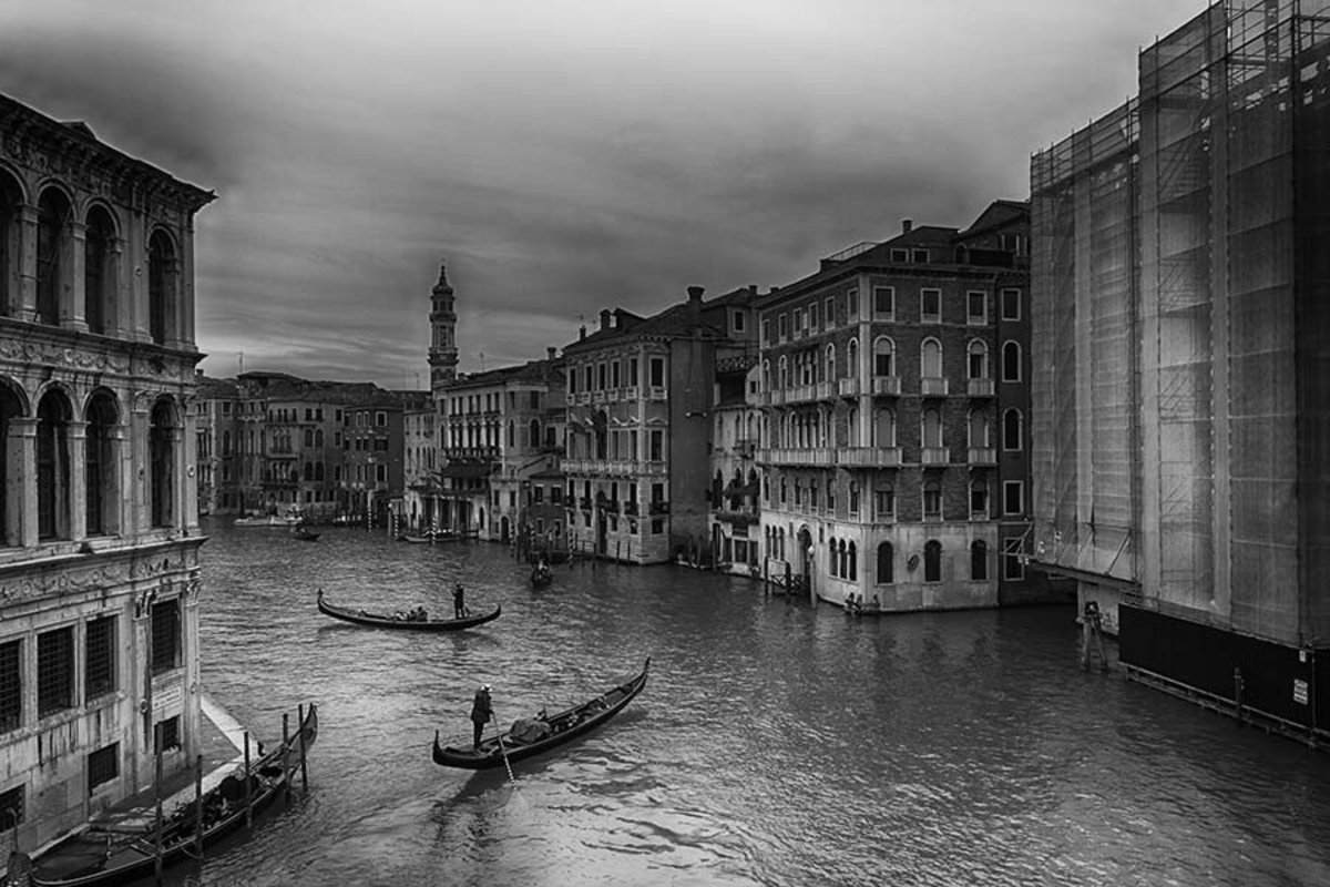 Venice - The Grand Canal Wall Mural