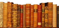 Old Books Mural Wallpaper