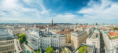 Vienna From The Rooftop Wall Mural