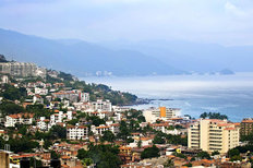 View From Above Puerto Vallarta Wallpaper Mural