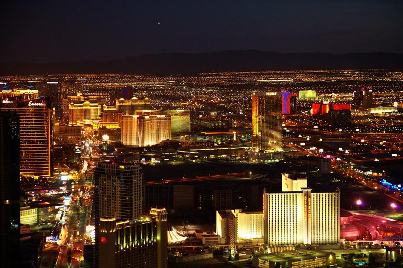 View from Stratosphere Tower Wall Mural