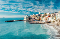 View of Bogliasco Wallpaper Mural