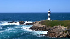 Lighthouse Shore Wallpaper Mural