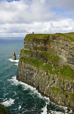 Side View Of The Cliffs Of Moher Wallpaper Mural