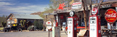 Vintage Gas Station On Route 66 Wall Mural