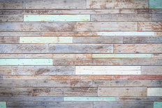 Vintage Wooden Wall Wall Mural