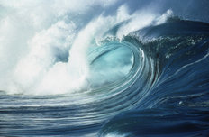 Waimea Shorebreak, Oahu, Hawaii Mural Wallpaper