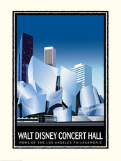 Walt Disney Concert Hall Wallpaper Mural