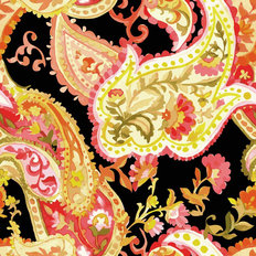 Watercolor Paisley Pattern II Wallpaper