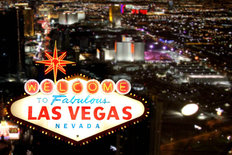 Welcome To Las Vegas Mural Wallpaper