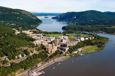 West Point - Aerial View Mural Wallpaper