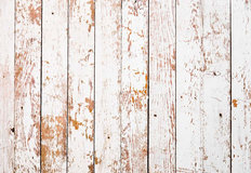 Weathered White Vertical Wood Mural Wallpaper