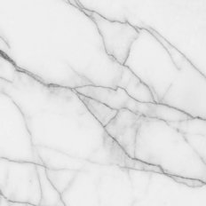 White Marble With Grey Veins Mural Wallpaper