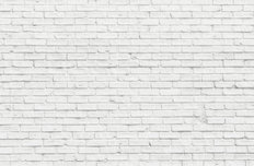 Whitewash Bricks Mural Wallpaper