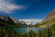 Wild Goose Island, Glacier National Park, MT Wall Mural