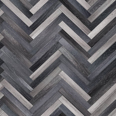 Wood Herringbone Pattern Mural Wallpaper