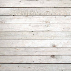 White Wood Texture Wallpaper Mural