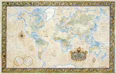 World Map (One Treasure Limited) Wallpaper Mural