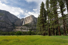 Yosemite Valley Mural Wallpaper