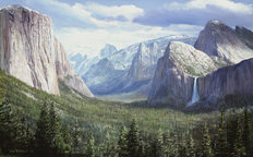 Yosemite Valley Wall Mural
